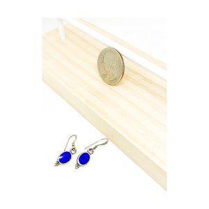 Silver & Blue Lapis Lazuli earrings
